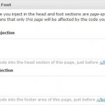 WordPress HiFi Plugin — Head and Foot Injection