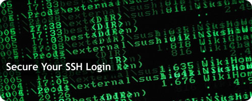 Secure SSH Login