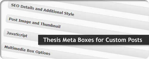Custom Thesis Theme