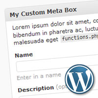 WordPress Custom Meta Box