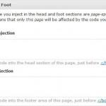 WordPress HiFi Plugin — Head and Foot Injection